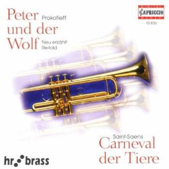 Philips Serge Prokofiev: Peter und der Wolf (1999) CD-R 700МБ 1шт
