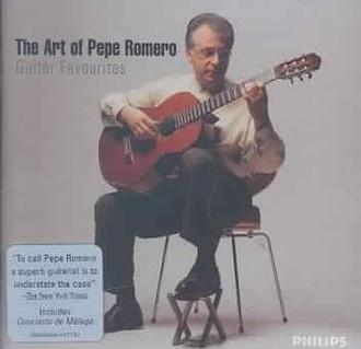 Philips Art Of Pepe Romero (2005) CD-R 700МБ 2шт