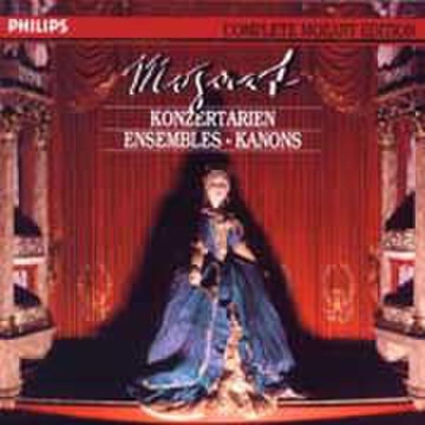 Philips Arien, Ensembles, Kanons - Mozart (1991) CD-R 700МБ 8шт