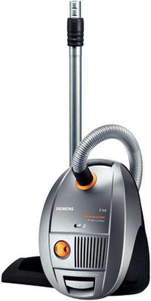 Siemens VSZ3XTRM Цилиндрический пылесос 4л 1800Вт Cеребряный пылесос