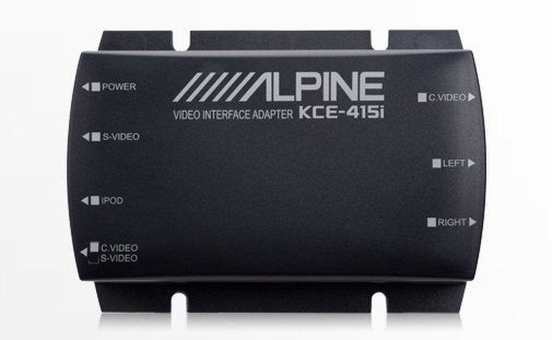 Alpine KCE-415I Черный AV ресивер