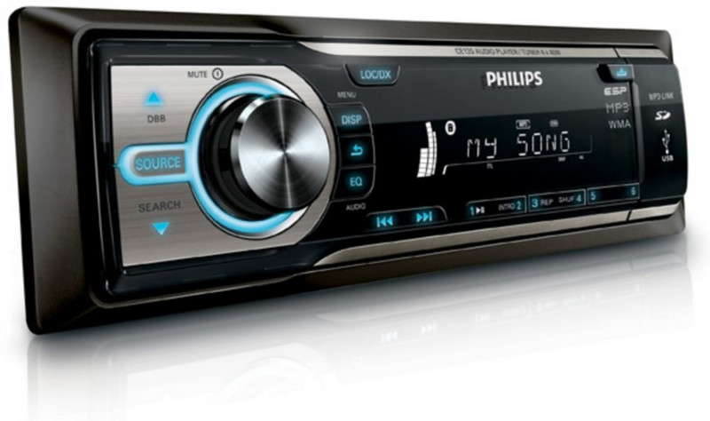 Philips CE120X/78 4Вт домашний музыкальный центр