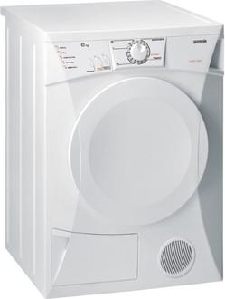 Gorenje D62320 Отдельностоящий Фронтальная загрузка 6кг B Белый сушилка для белья