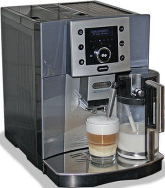 DeLonghi DEL ESAM 5500.L Espresso machine 1.7л Синий, Cеребряный