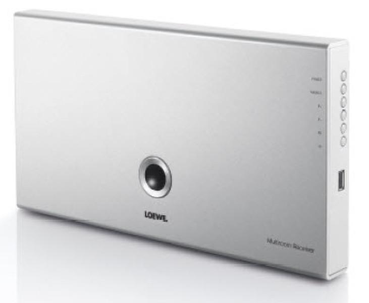 LOEWE Multiroom 50Вт 2.1канала Алюминиевый, Cеребряный AV ресивер