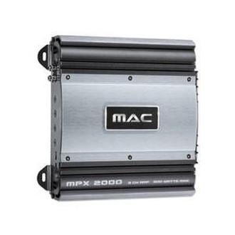 Mac Audio MPX 2000 2.0канала Черный, Cеребряный AV ресивер