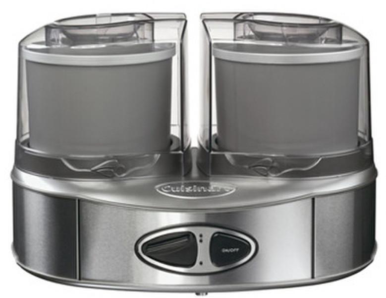 Cuisinart ICE40BCE 50Вт 1л Нержавеющая сталь мороженница