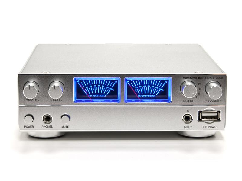 Scythe SDAR-2000-SL 2.0канала Cеребряный AV ресивер