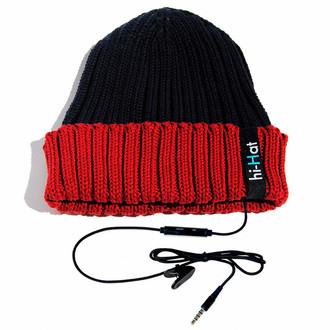 hi-Fun hi-Hat Проводная Синий, Красный шапка с наушниками