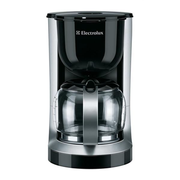 Electrolux EKF3100 Отдельностоящий Капельная кофеварка 1.4л 15чашек Черный, Cеребряный кофеварка