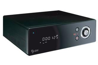 O2media HMR-600W 1920 x 1080пикселей Черный медиаплеер