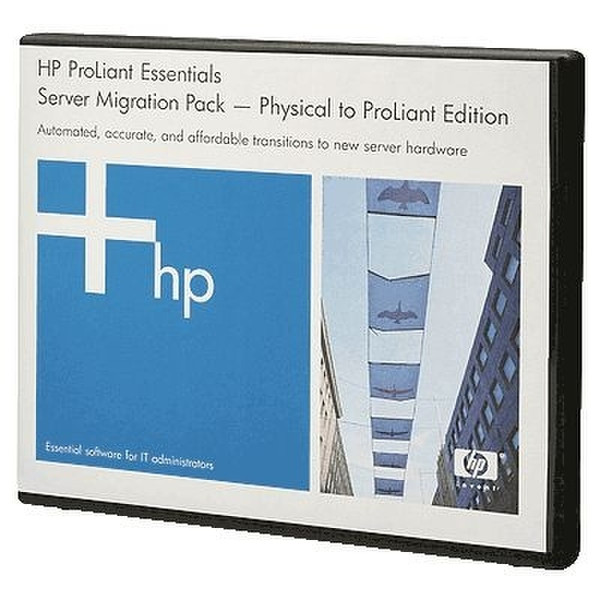 Hewlett Packard Enterprise Server Migration Pack P2P Media Only Kit