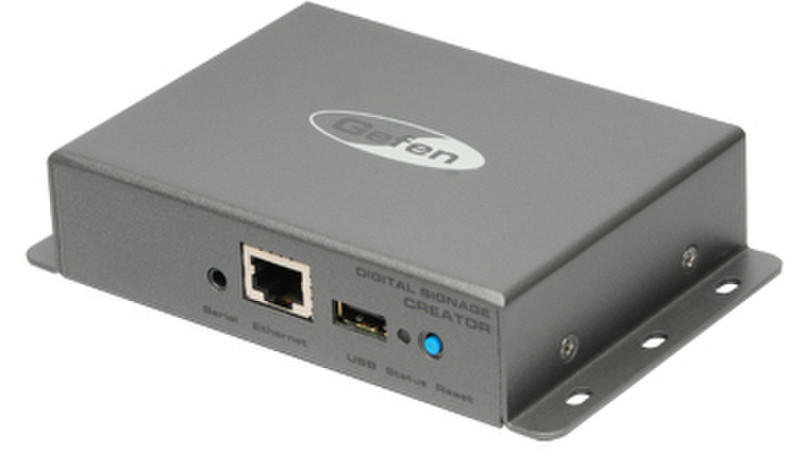 Gefen EXT-DSC 1.5ГБ 2.0 1280 x 720пикселей Серый медиаплеер