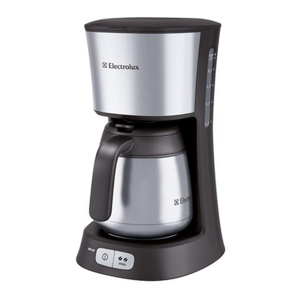 Electrolux EKF5255 Капельная кофеварка 1.5л 15чашек Нержавеющая сталь кофеварка