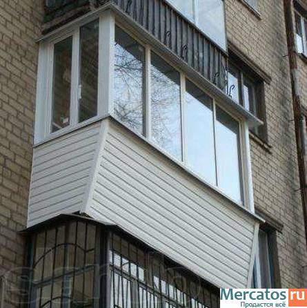 Остекление балконов или лоджий с помощью алюминиев.
