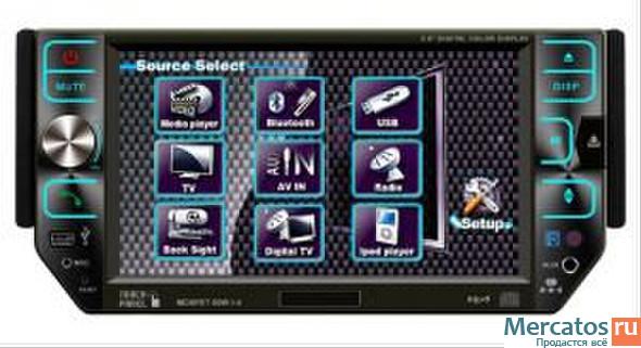 Купить магнитола dvd pioneer 508 dvd gps lux со склада