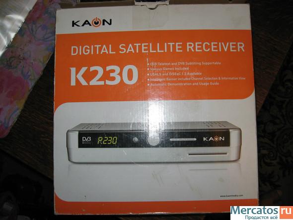 Спутниковый ресивер Kaon K230 (Корея), новый