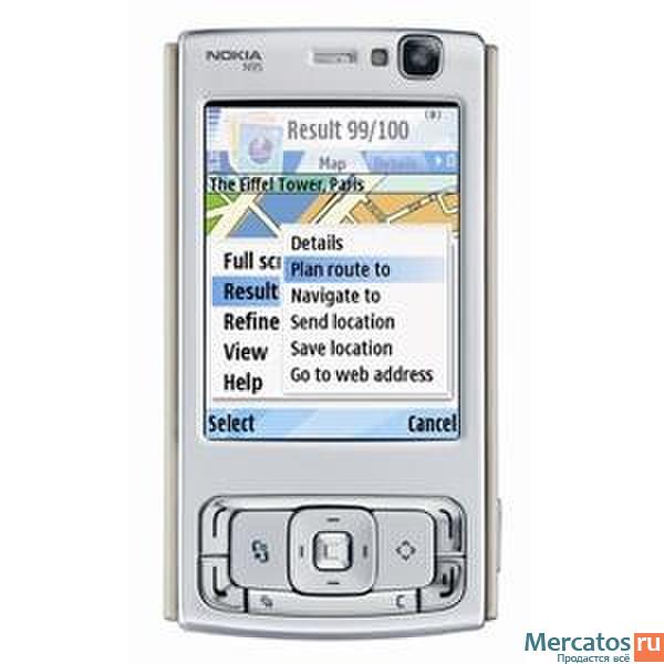 Nokia N95 Deep Plum рус. кл. (1 мес. Nokia N95 - это многофункциональный