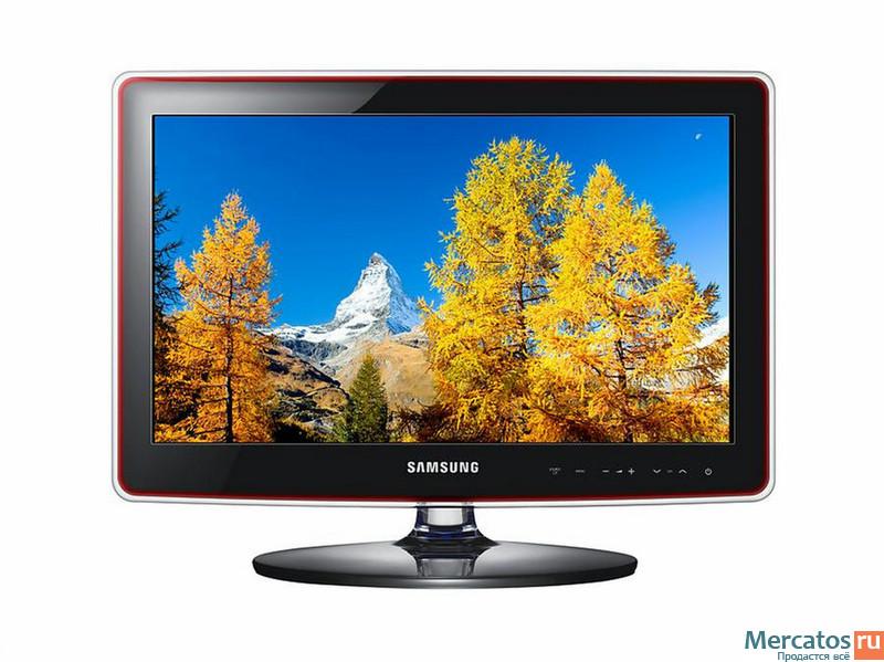 Samsung le22b650t6w, вид панели управления