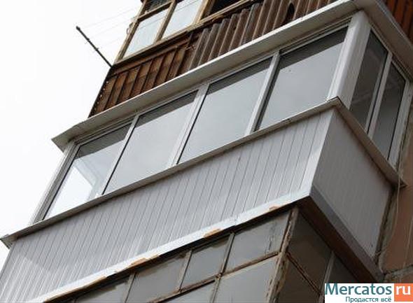 Остекление балконов и лоджий. скидки от 20%, купить остеклен.