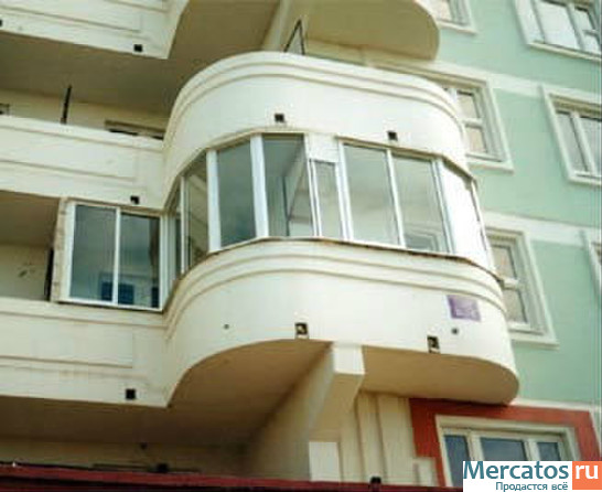 Остекление балконов и остекление лоджий., купить остекление .