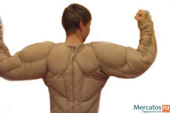 Как сделать мышцы в игре качок