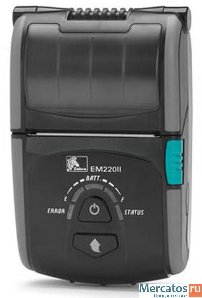 Limprimante mobile zebra em220ii permet une impression direct thermique de reçus dune largeur pouvant aller jusqu0e0