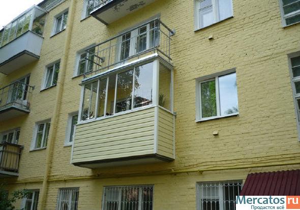 Холодное остекление балконов и лоджий, купить остекление в м.