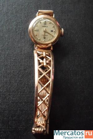 Женские золотые часы на золотом браслете: каталог цен ...