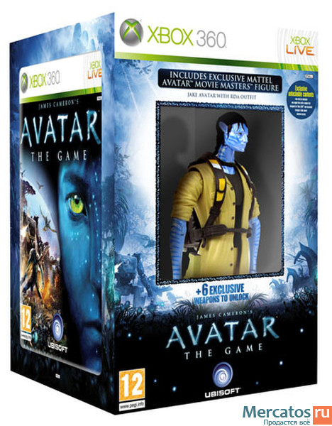 Xbox 360 T Games : Avatar game xbox castparj