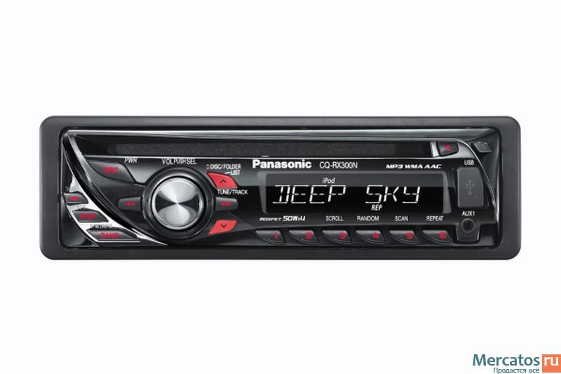 Автомагнитола Panasonic CQ-RX300W.