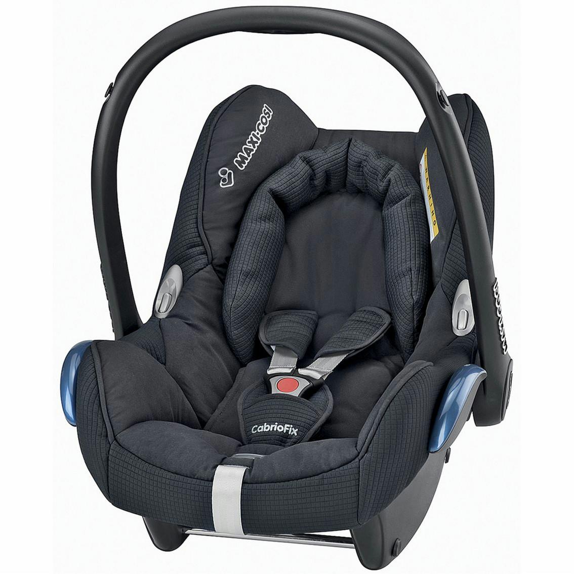 Black Baby Car Seat Maxi Cosi CabrioFix 0