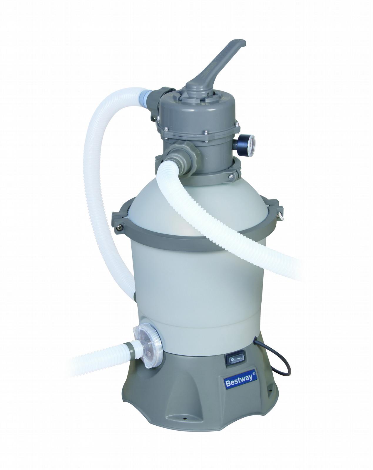 details voor nieuw ontwerp officiële leverancier ᐈ Bestway FLOWCLEAR Sand FIlter Pump 2.006 L/h • best Price ...