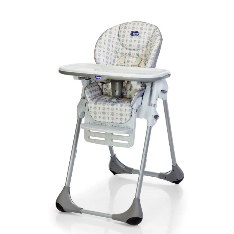 Chicco 05079187710000 Traditional High Chair Padded Seat Multicolour