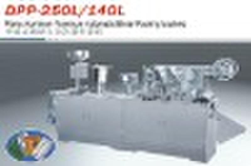 Plane Aluminum Aluminum Blister Packing Machine