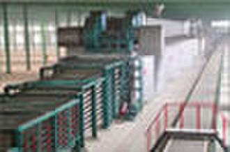 2 Millionen qm / Jahr Gipskartonplatte Produktionslinie (CE,