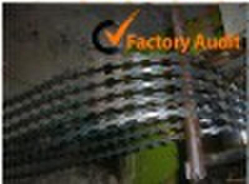 PVC coated razor barbed wire