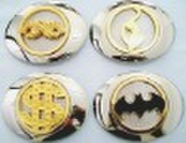 logos belt buckle