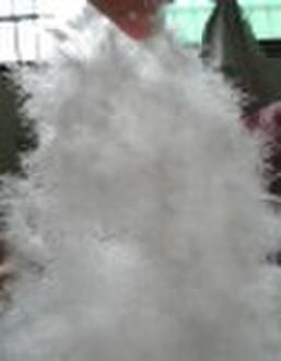 Gewaschene weiße Gänsedaunen
