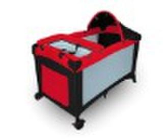 Baby Playpen Fireproof red+black