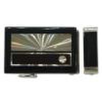 Glue CD Magnet Auto Lock Buckle