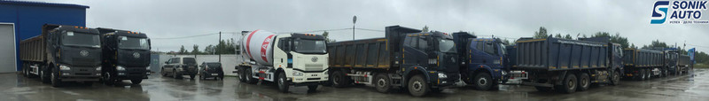 Sell concrete mixer truck FAW model CA5250, 10m3
