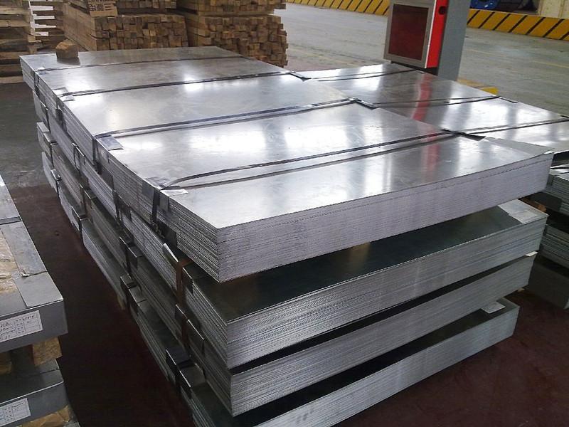 Galvanized steel sheet to EN 10346, EN 10152 , EN 10131, EN 10346