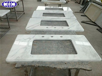 Chinese White Marble Vanity Tops