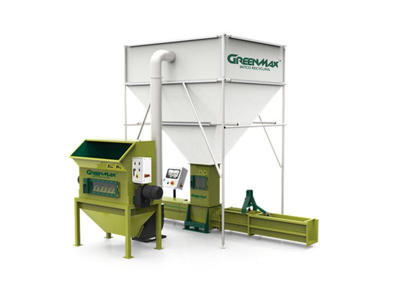 High quality styrofoam densifier GREENMAX APOLO C300