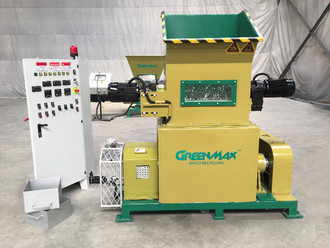 Efficient styrofoam densifier GreenMax Mars C100