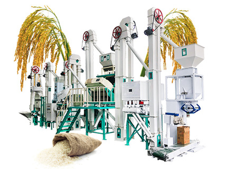 Complete Rice Mill Production Line—VMTCP-28 Rice Mill Plant