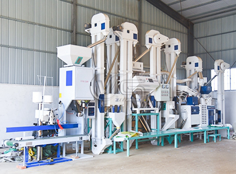 Modern 20T/D Rice Mill Plant for Sale