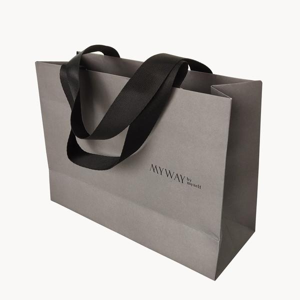 Custom Printed Paper Shopping Bag for Garment
