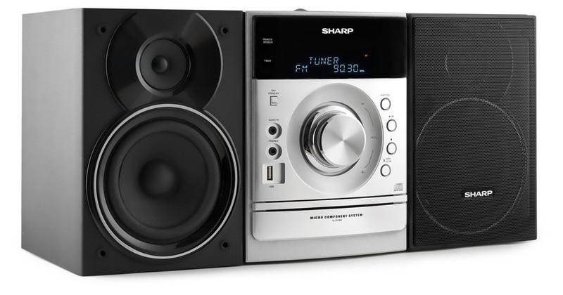 Sharp XL-DH360PH Micro set 160Вт Черный, Cеребряный домашний музыкальный центр